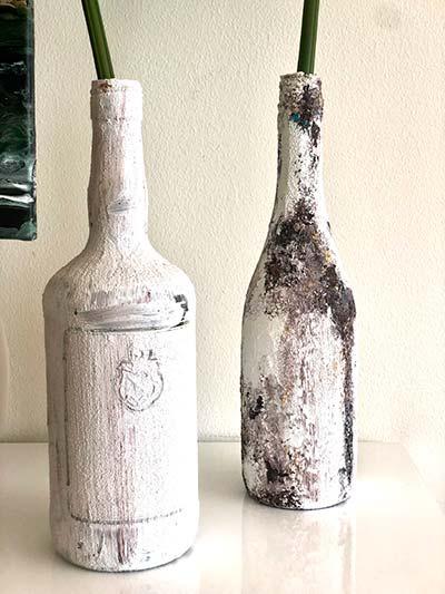 Botellas desierto