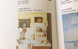 Catálogo Salón D'automne Paris, cuadro La cocina. 90x70. 1998