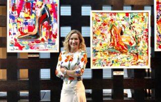 Exposición en hotel Southern Sun de la colección Loving Louboutin. 2018